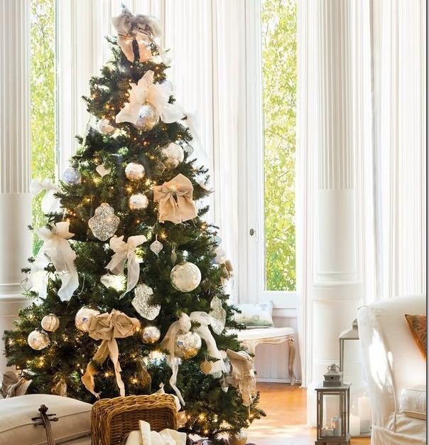 Alberi Di Natale Eleganti Immagini.Come Disporre La Stanza Attorno All Albero Di Natale