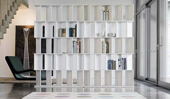 Librerie Bifacciali Una Buona Soluzione Per Separare Gli Ambienti