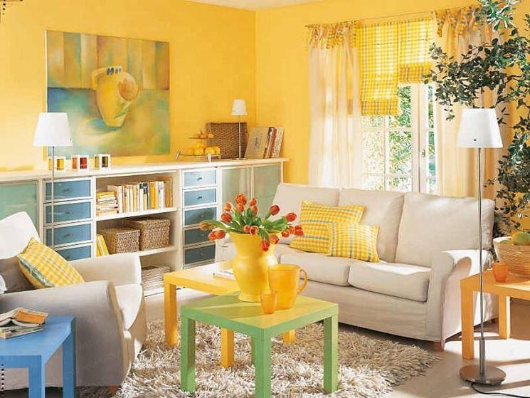 Colore Pareti Giallo Ocra : Portare la luce in casa si può con ...