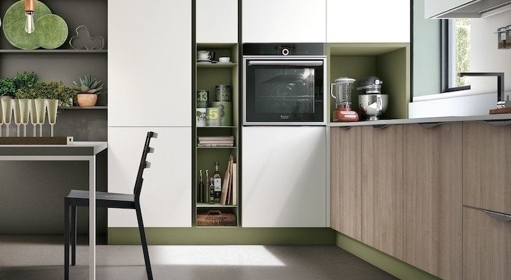 Cucine ad angolo di piccole dimensioni: un\'alternativa fattibile?