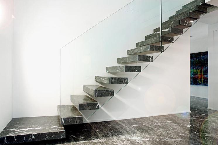 Scale per interni perch scegliere il marmo - Scale in marmo ...