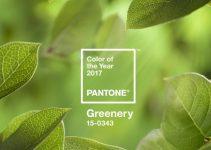 greenery pantone 2017