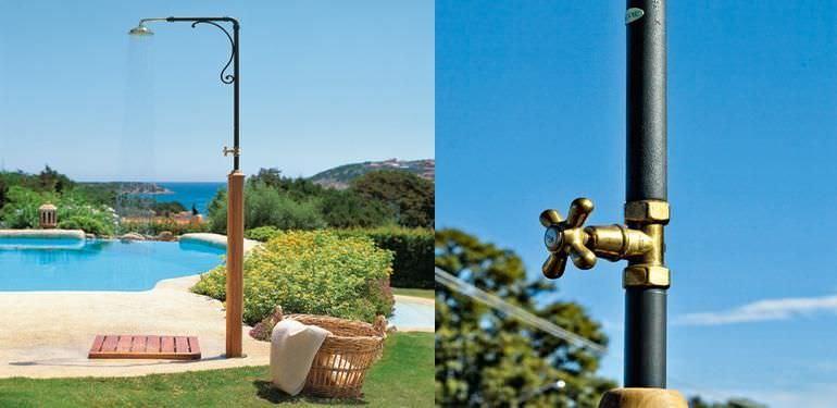 Docce da giardino cosa valutare per fare la scelta migliore - Docce da giardino in muratura ...