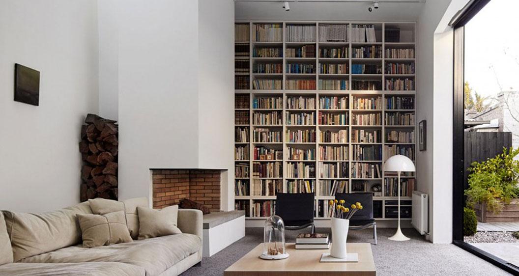 Librerie a parete stile e comodit in un colpo solo - Libreria a parete ...