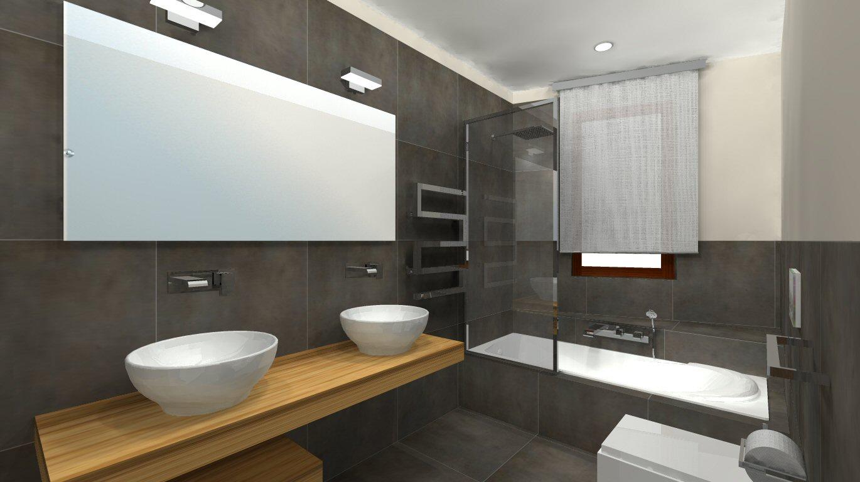Arredare un bagno in stile moderno cosa non pu mancare - Arredare il bagno moderno ...