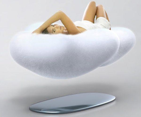Letto Sospeso In Aria : Cloud sofà il letto del futuro è sospeso in aria