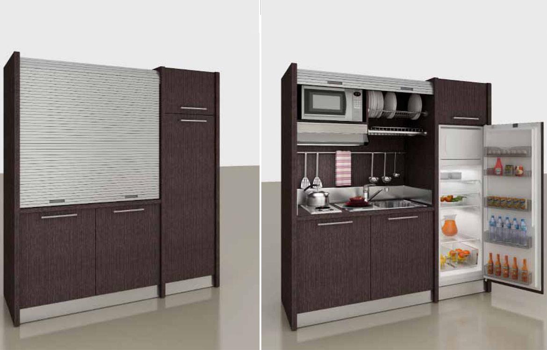 Awesome mini cucina compatta images - Cucina a scomparsa economica ...