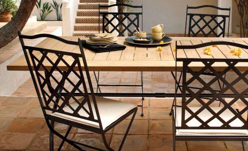 Mobili Da Giardino In Ferro : Come proteggere i mobili da giardino